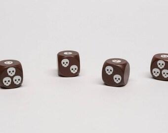 Skull dice of death