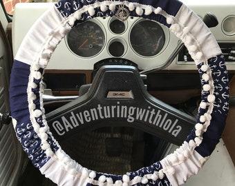 Sail Away - Boho Hippie Steering Wheel Cover