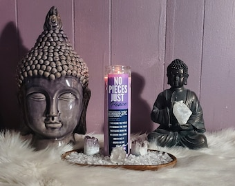 7 Day Prayer Candle: No Pieces Just Peace