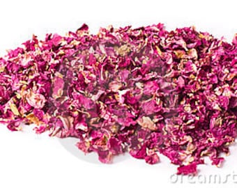 Organic dried Rose Petals and buds  edible, for culinary uses,2 oz-50 gr.foodgrade, herbal tea, bath, soaps, infusions