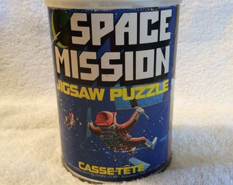 Space Mission jigsaw puzzle casse-tete 1975