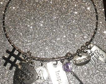 ARoyle Glitter Bangle