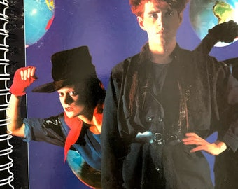 for the Thompson Twins - Hold Me Now Into the Gap 80s MTV Pop FAN Album Cover Notebook /rare Vinyl!