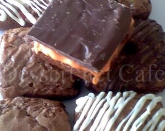 Orange Twist Brownies