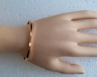 Solid Copper Cuff Bracelet