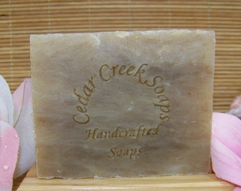 Rosemary Soap - Rosemary Cold Processed Soap ~ 85 percent Organic, Vegan and All Natural Soap