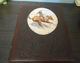 the old west the  COWBOYS time life books  1973