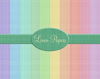 Digital Linen Papers, great for digital, crafting, scrapbooking, photography, 300dpi jpeg  files, Background papers,Pastel colours