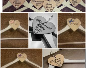 Elegant Bridal Hangers - Available Now