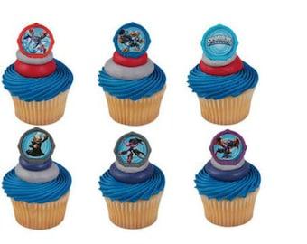 Skylanders cupcake Etsy