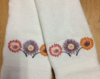 Daisy Hand Towel Set