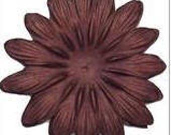 """Bazzill: 4"""" Gerbera Daisy, various colors"""