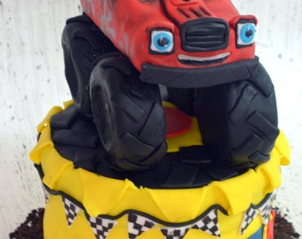 Monster Truck Cake Topper (100% Edible)