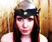 Deluxe Leather Elven Crow...