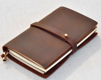 Field Notes, explorer journal ,leather  travel journal(free stamp )