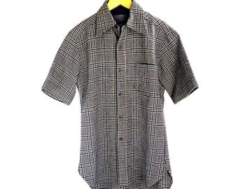 Vintage Pendleton Plaid Wool Mens Shirt