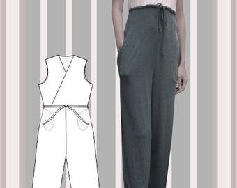 Sewing Pattern: Izzy long jumpsuit
