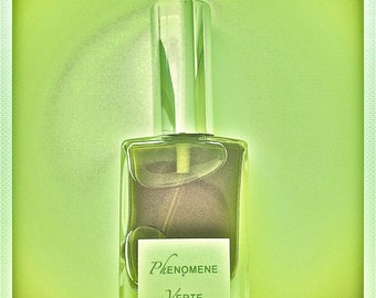 "PARFUMS LALUN ""Phenomene Verte I"" Natural Perfume - 15ml EdT Spray"