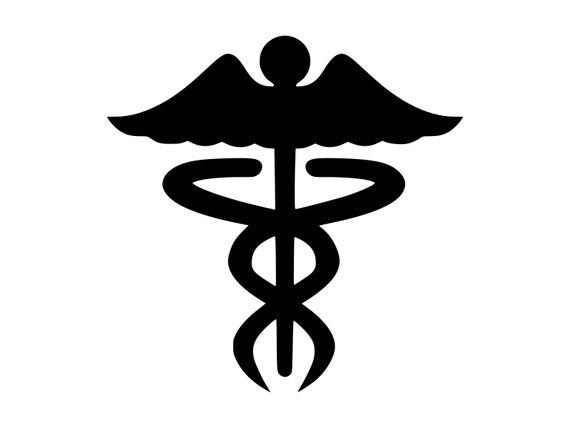 Caduceus Svg Medical Symbol Doctor Rn Medical Svg Caduceus Nurse