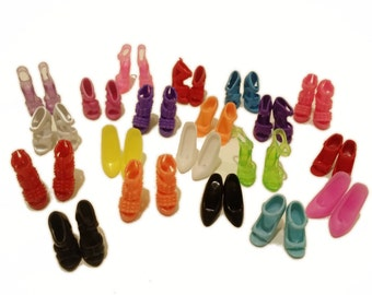 20 pairs of Barbie Shoes-Mix lot Set #1
