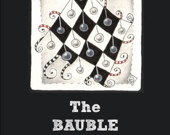 "Inspiration Sketchbook 3 - ""The Bauble Tree"" PDF eBook"
