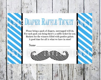 Paris french baby shower game wishes for baby bebe mustache baby shower diaper raffle insert card 3x5 size digital file instant download matching shower invitation available stopboris Gallery