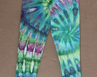 Tie Dye Leggings | Medium Leggings, Yoga Leggings, Yoga Pants, Hippie, Festival, Boho Yoga Leggings, Boho Pants, Bohemian, TieDye, Medium