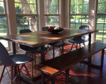 Small dining table etsy the lentini dining table ships to lower 48 states handmade kitchen table made from workwithnaturefo