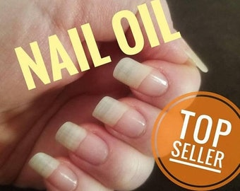 ON SALE Nail Oil, Cuticle Oil, nail growth oil, nail serum, nail treatment, nail strengthener, nail care, nail hardener, brittle, nail repai