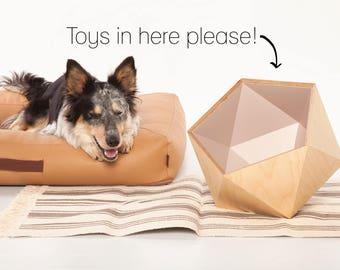 Dog Toy Storage for Dog Toys - Rosé-Gold