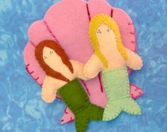 Tiny Mermaid Friends PDF Pattern