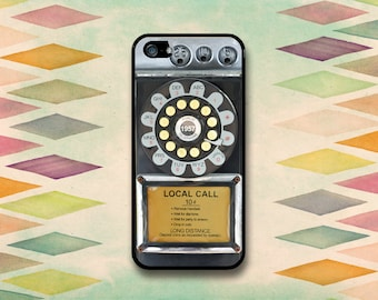 Vintage Rotary Payphone Case: iPhone 4 // 4s, 5c or 5 // 5s