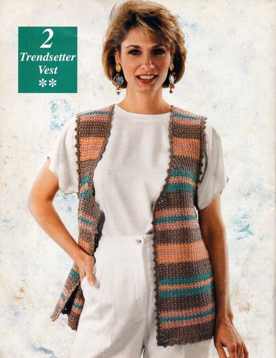 Womens crochet waistcoat vest crochet pattern ladies crochet womens crochet waistcoat vest crochet pattern ladies crochet sleeveless cardigan 36 42 inch aran worsted 10ply instant download from hobohooks on etsy dt1010fo