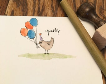 birthday or invitation card