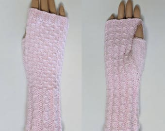 Mitts 1, Woman's Knit Fingerless Mitts, Women's Knit Wristers, Woman's Knit Gloves, Hand Kniitted Women's Accessories, Sport Weight Knits