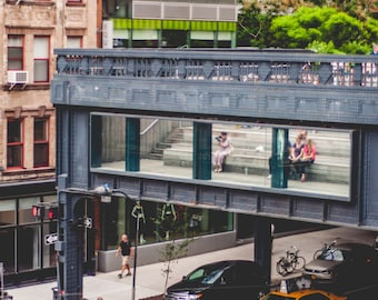 Fine Art Photography // Street Art // Highline, New York City // Giclée Print