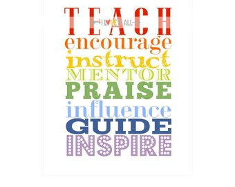 Teacher Classroom Gift, Teacher Appreciation, Back To School Appreciation Gift, Classroom Gift, Gift for Teacher, Graduation Gift, Teacher