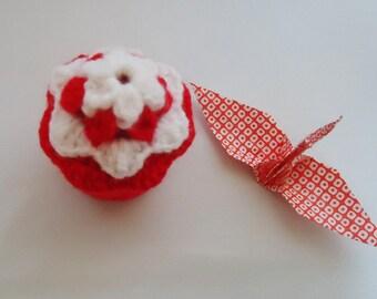 Handmade Cupcake Trinket box. KAwaii