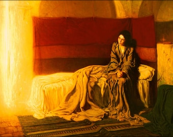 Poster, Many Sizes Available; The Annunciation By Henry Ossawa Tanner 1898