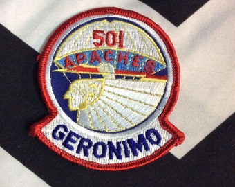 Vintage Geronimo Apaches Patch