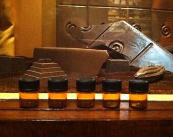 Five perfume sample pack