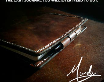 Murdy No. 5 Signature Leather Journal Cover