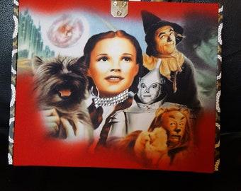 Wizard of Oz cigar box purse