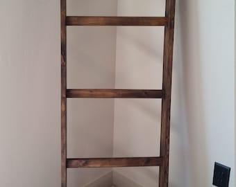 Un-assembled Blanket Ladder