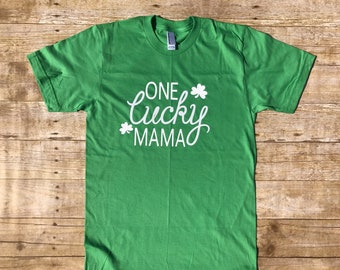 One Lucky MAMA | St.patricks day |lucky mom