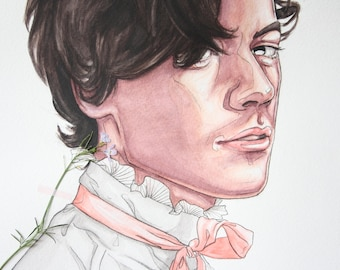 Harry Styles -  Sweet Creature by Usloual - A4 Art print + FREE print of choice