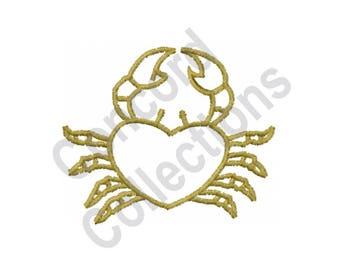 Crab - Machine Embroidery Design