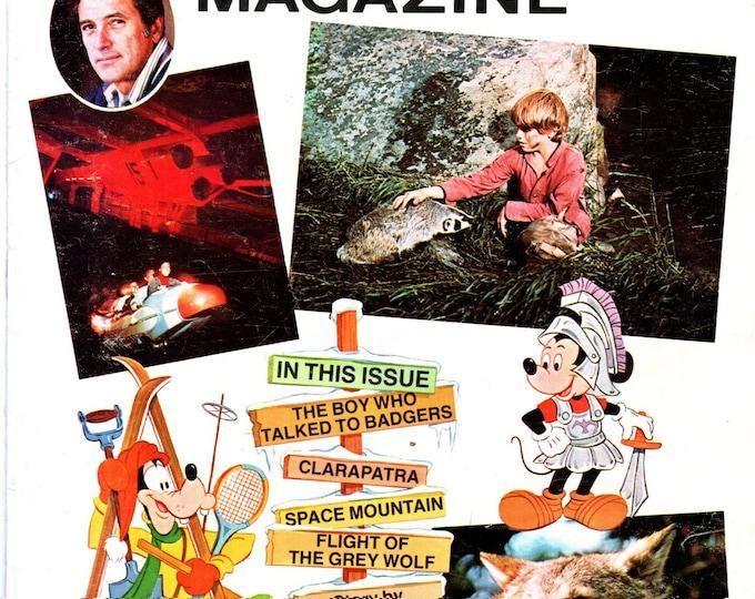 Disney Magazine Ivory Soap Premium July 1976 Issue Space Mountain Rock Hudson