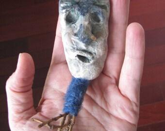 sculpture, ceramics, figurine, weird art - Dumb Guy