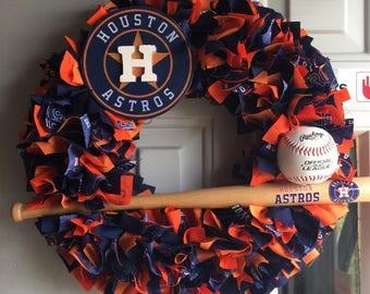 Houston  Astros Wreath